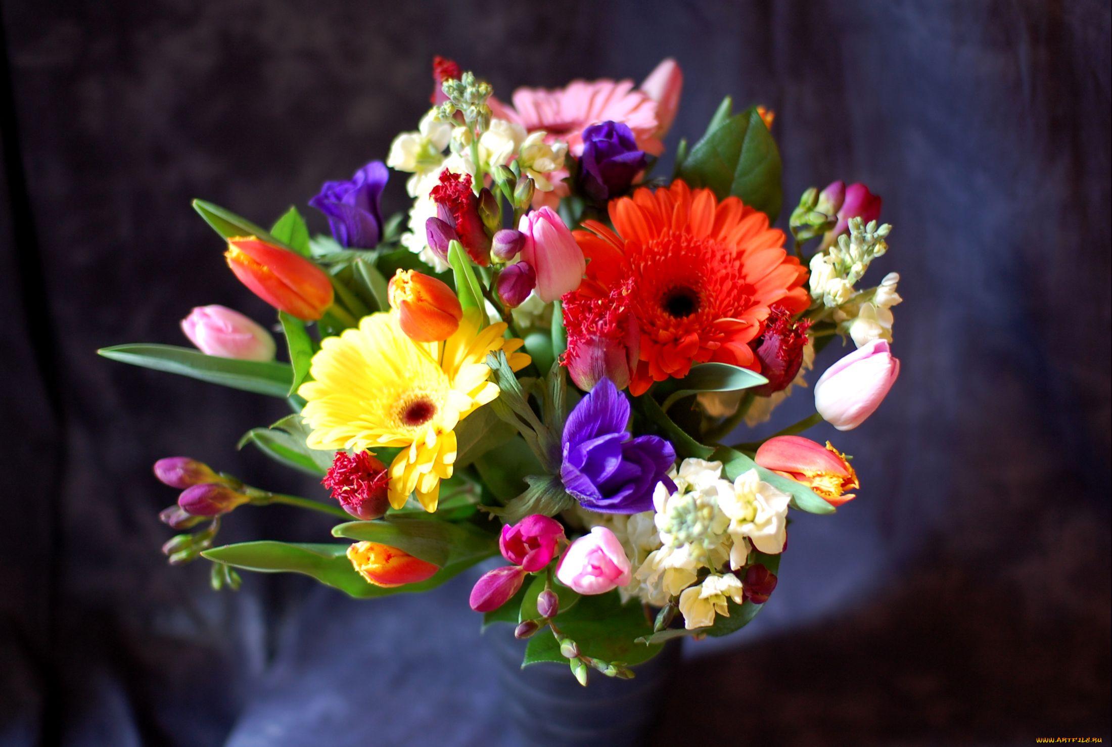 судов яркие весенние букеты цветов фото востребована